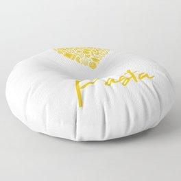 Pasta Love Motive for a Spaghetti Lover Floor Pillow