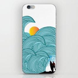surfing 3 iPhone Skin