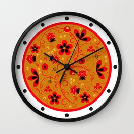 Nord Floral 2 Wall Clock