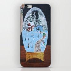 Snowglobe iPhone & iPod Skin