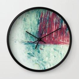 abstract painting Wall Clock