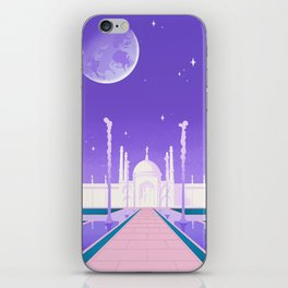 Visit the Moon Kingdom / Sailor Moon iPhone Skin