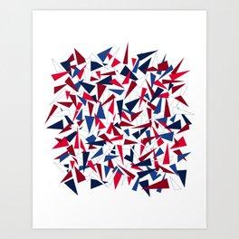 Break the Glass Ceiling! Art Print