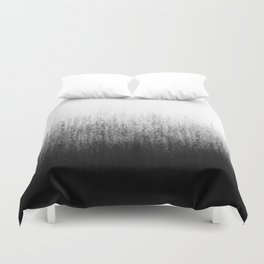 Charcoal Ombré Duvet Cover