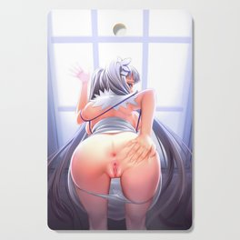 Hentai Round Ass Cutting Board