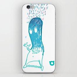 002_rain iPhone Skin