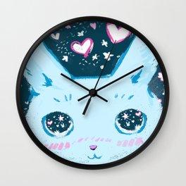 Star Bunny Wall Clock