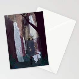 Ghosty Woods Stationery Cards