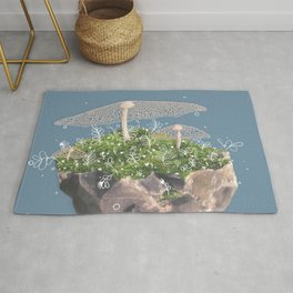 Moss to the Rock Rug