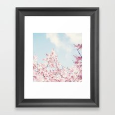 Spring melody Framed Art Print