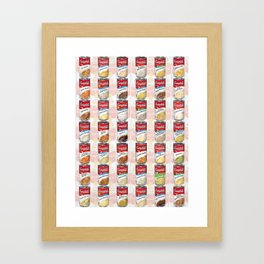 Campbell's Soup Framed Art Print