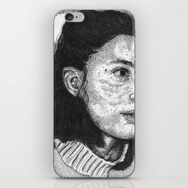 sleep deprived iPhone Skin