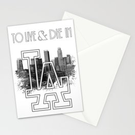 To Live & Die In L.A. Stationery Cards