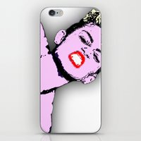 miley cyrus iPhone & iPod Skins featuring Miley Cyrus by D Arnold Designs