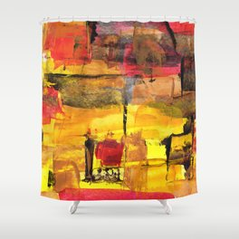 Abstract Street Shower Curtain