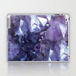 Amethyst Crystal Cluster Laptop & iPad Skin
