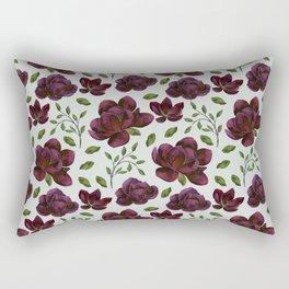 Forest Meadow Rose Rectangular Pillow