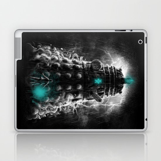 Shadow Of The Dalek Laptop & iPad Skin