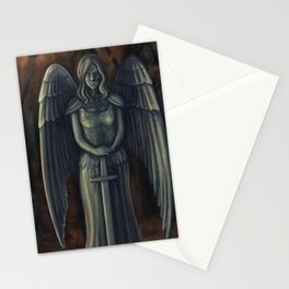 Justice Sculpture Stationery Cards