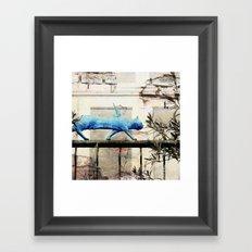 Angels Never Fall Framed Art Print