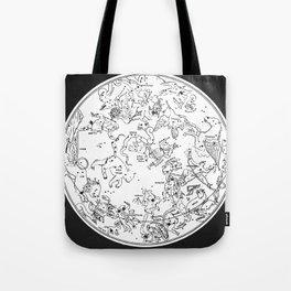 Zodiac Square 1 Tote Bag