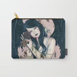 Wither Gothic Angel Of Decay Carry-All Pouch