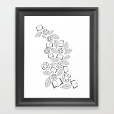 recycle reuse Framed Art Print