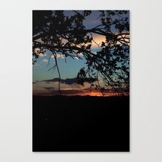 NM Sunset 6 Canvas Print
