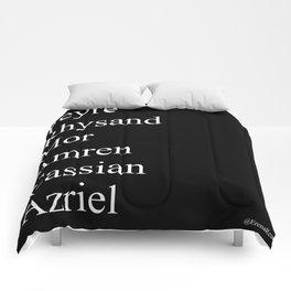 Night Court Characters Print Comforters