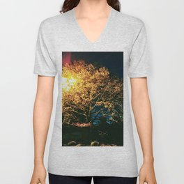 A moment at sunrise Unisex V-Neck