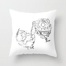 Lo Drac Throw Pillow