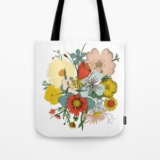 Flower Wad Tote Bag