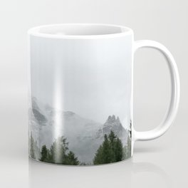 Faded Forest Landscape Coffee Mug