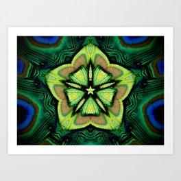 flor de pavo Art Print