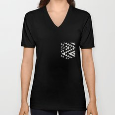 out of the circle Unisex V-Neck