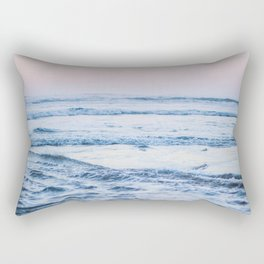 Pacific Ocean Waves Rectangular Pillow