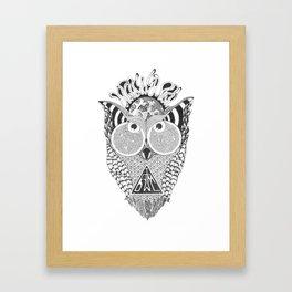 I am Owl Framed Art Print
