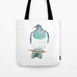 Kereru / Woodpigeon - a native New Zealand bird 2014 Tote Bag