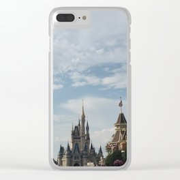 The Happiest Place Clear iPhone Case