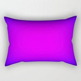 Fuchsia Purple Blue Focus Rectangular Pillow