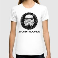 stormtrooper T-shirts featuring stormtrooper by Tarik Ali Sert