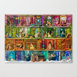 A Stitch In Time 2 Canvas Print