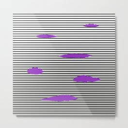 Tracer Cosplay Skin Ultraviolet Metal Print
