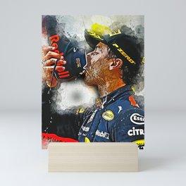 Daniel Ricciardo Mini Art Print