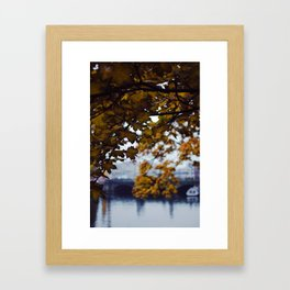 Autumn Nostalgia in Berlin Framed Art Print