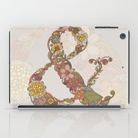 ampersand iPad Cases featuring Ampersand by Valentina Harper