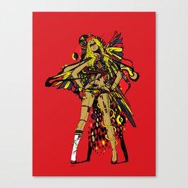 HATHOR ~ RED Canvas Print