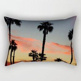 Huntington Beach Sunset Rectangular Pillow