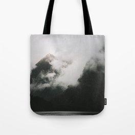 Misty Doubtful Sound Tote Bag