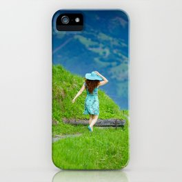 Happy moments in Austria iPhone Case